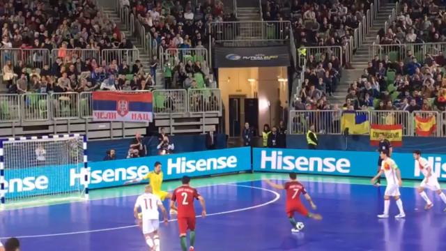 Foi este o golo mais importante da história do futsal português