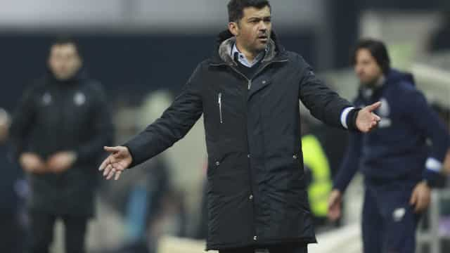 Mourinho disse que o seu FC Porto ganharia a este. Conceição responde