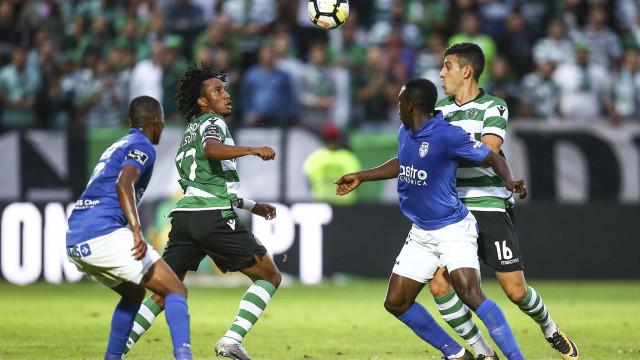 [1-0] Sporting-Feirense: William quebra a resistência visitante