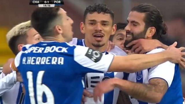 Soares volta a fazer das suas no Chaves-FC Porto