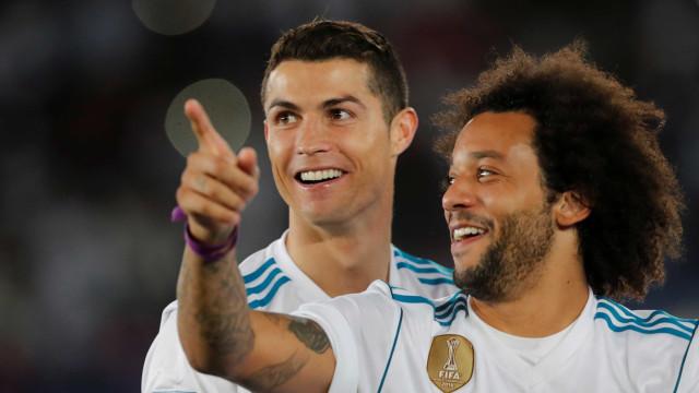 Marcelo revela como (e quando) soube que Ronaldo estava de saída do Real