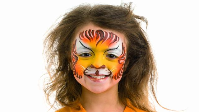 Disfarces para miúdos: Aposte na pintura