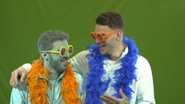 Ederson e Bernardo Silva: O Carnaval e muita 'galhofa' pelo meio