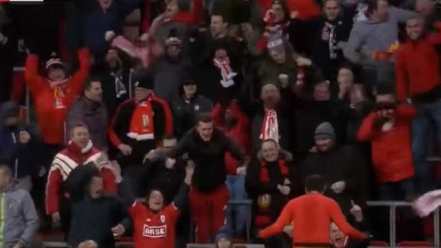 Liège de Sá Pinto vence jogo de loucos: Cambalhota em dois minutos