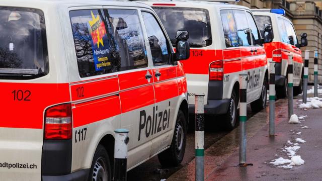 Roubam 26 milhões de euros e deixam polícia 'às aranhas' na Suíça