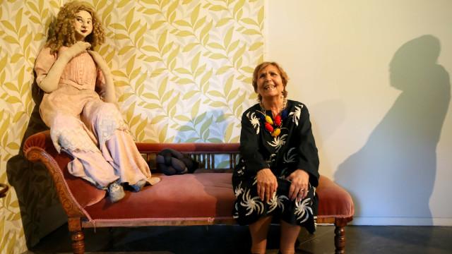"""Paula Rego e a sua obra: """"Sou toda eu. Não me procuro, encontro-me"""""""