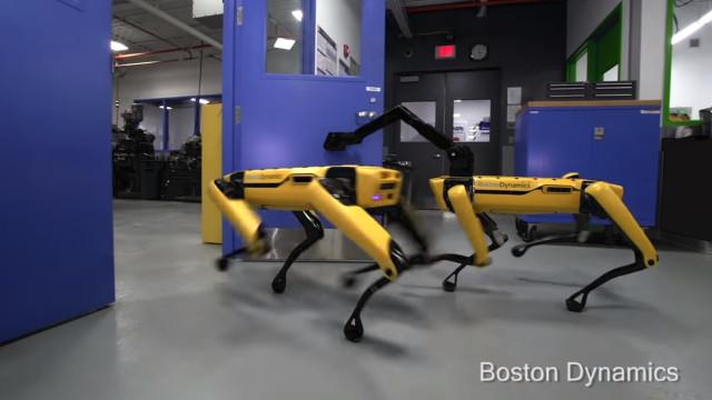 As portas já não são um entrave aos robots da Boston Dynamics