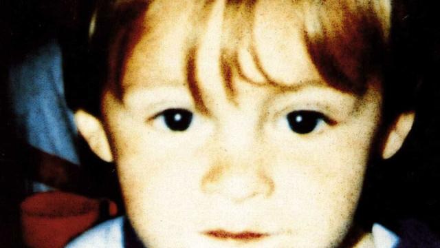 James Bulger, a criança que foi assassinada por outras duas crianças