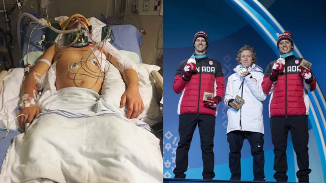 Da cama do hospital ao pódio olímpico em 11 meses. Mark, o 'super-herói'