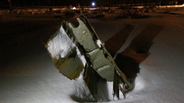 Erro humano poderá ter originado queda de avião russo