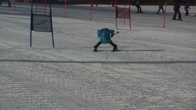 Os robots também competem nos Jogos Olímpicos de Inverno