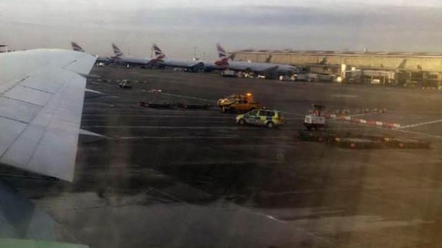Acidente em aeroporto de Heathrow fez um morto