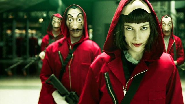 Netflix confirma continuação de 'La Casa de Papel'