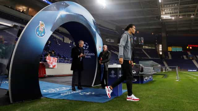 [0-0] FC Porto - Liverpool: Rola a bola no Dragão