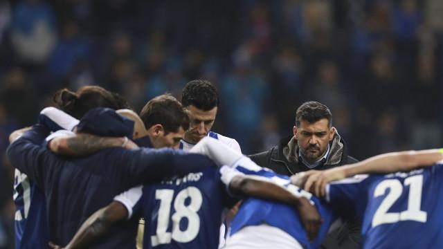 O que disse Conceição na roda após a pesada derrota com o Liverpool