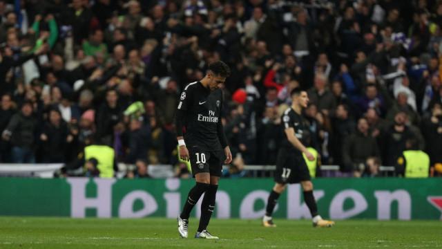 Comportamento de Neymar após jogo com Real está a indignar adeptos