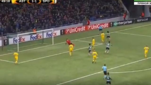 'Entendimento' brilhante entre Acuña e Gelson dá vantagem ao Sporting