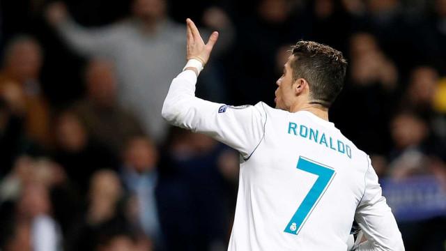 Em Espanha questionam gestos de Ronaldo. A celebração de CR7 em código