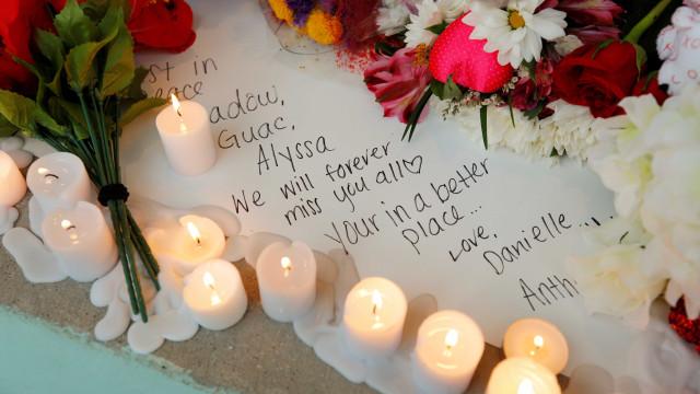 Os rostos das 17 vítimas mortais do tiroteio na Florida