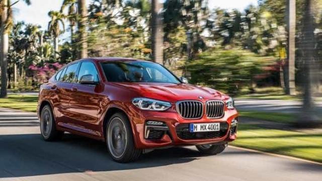 BMW divulga primeiras imagens do novo X4