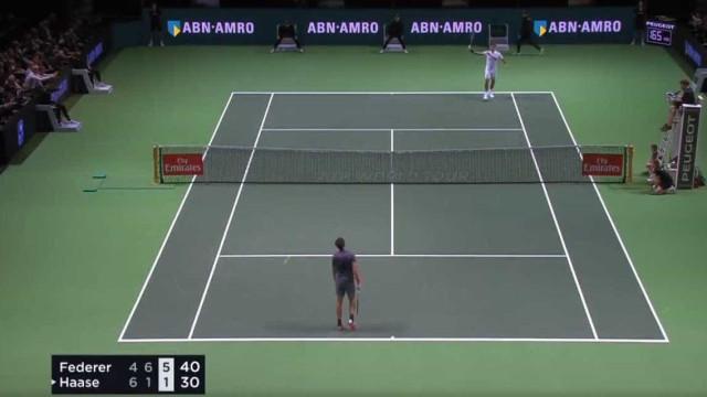Federer ainda mais lenda: Veja o ponto em que carimbou o regresso ao topo