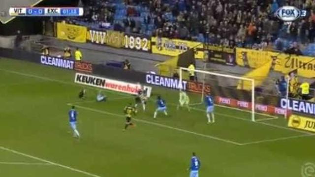 Lembra-se de Castaignos? Marcou este golaço no Vitesse-Excelsior