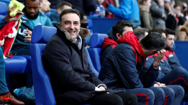 """Swansea não tem dúvidas: Carlos Carvalhal é mesmo o """"rei das analogias"""""""