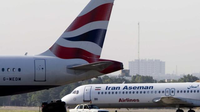 Encontrados destroços do avião que caiu no Irão
