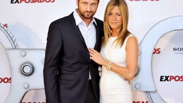 Jennifer Aniston tem contado com o apoio de Gerard Butler