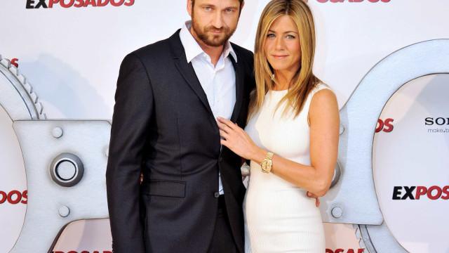 Jennifer Aniston tem contado com o apoio de Gerard Butler