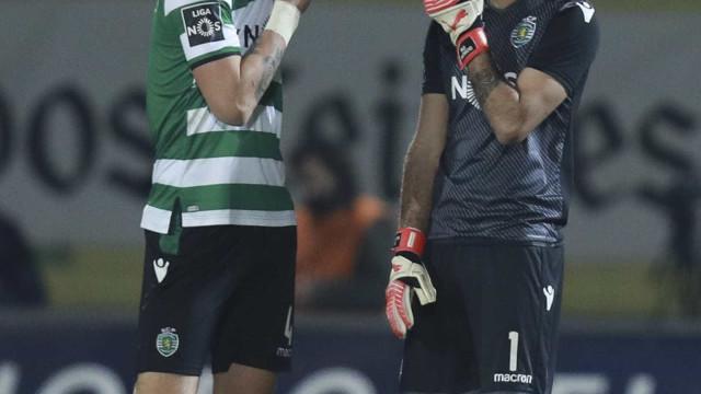 Sporting vence em Tondela com golo aos 90+8'