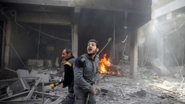 ONU apela para cessar-fogo efetivo em Ghouta Oriental
