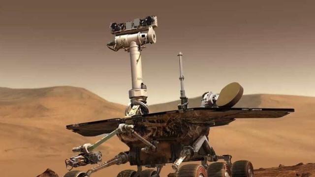 Tempestade em Marte está a passar. Rover ainda em perigo
