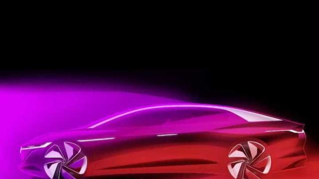 Volkswagen dá-lhe um pequeno vislumbre do seu carro elétrico de luxo