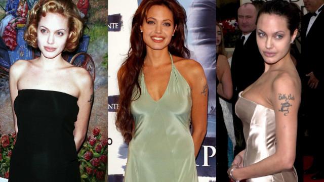Moda: A evolução do estilo de Angelina Jolie