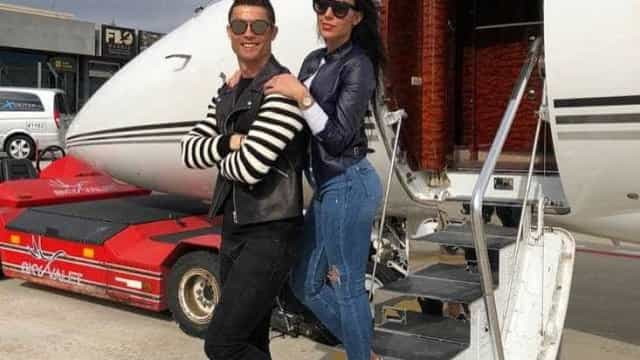 """""""O amor está no ar"""", afirma Cristiano Ronaldo"""