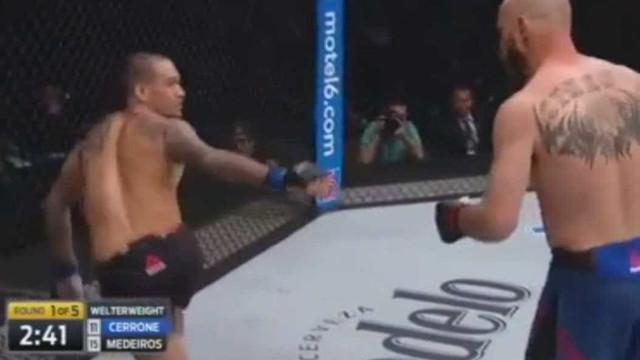 Esta é a (bonita) prova de que não vale tudo no UFC