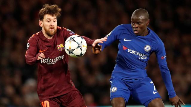 Chelsea e Barça anulam-se e deixam decisão para Camp Nou