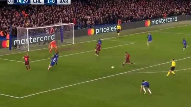 E assim terminou o 'pesadelo' de Messi frente o Chelsea