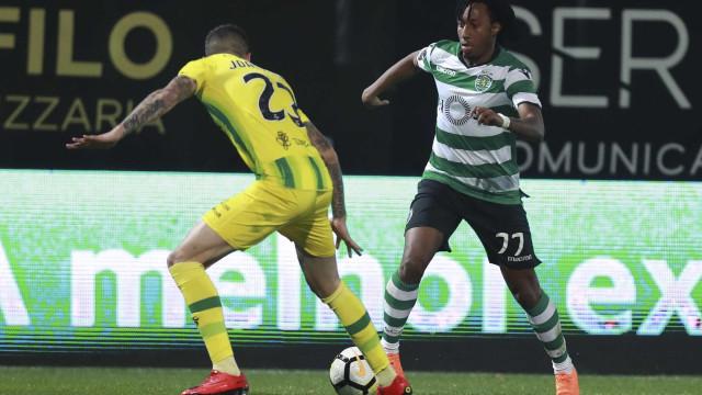 Gelson revela o segredo da vitória do Sporting em Tondela