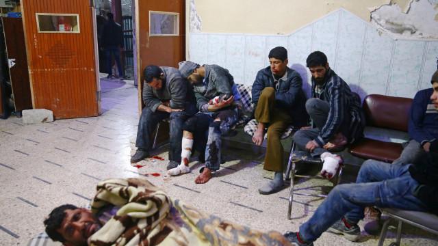 Cinco mortos e 200 feridos em novos ataques na região de Ghouta Oriental