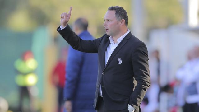 """""""Eu sou treinador do Vitória. Não sou da equipa A ou da equipa B"""""""