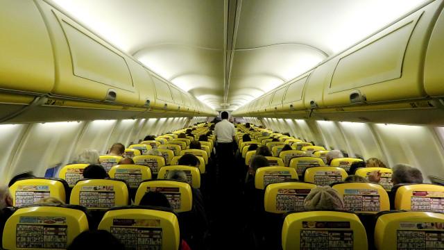 Greve na Ryanair com adesão de 90% e 27 voos cancelados