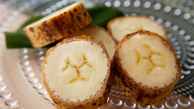 Agricultores japoneses inventam banana com casca comestível