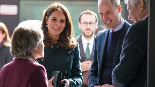 William e Kate Middleton conhecem fã especial... com 101 anos