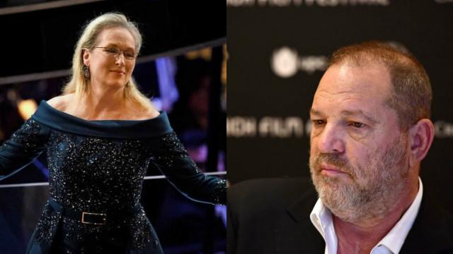 """Weinstein usa nome de Streep em processo. """"É ridículo"""", diz a atriz"""
