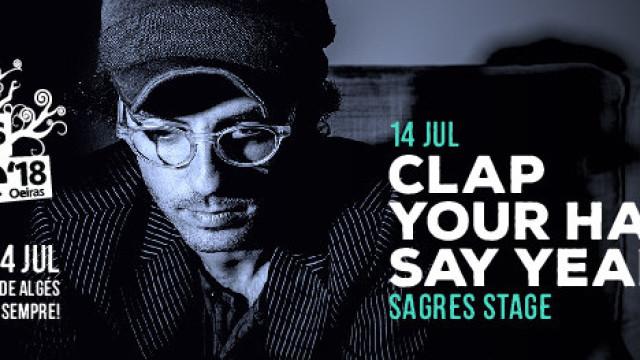 NOS Alive anuncia 'Clap Your Hands Say Yeah' para o dia 14 de julho