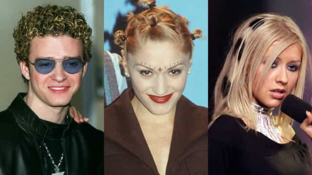 Famosos: Os piores penteados da década de 90