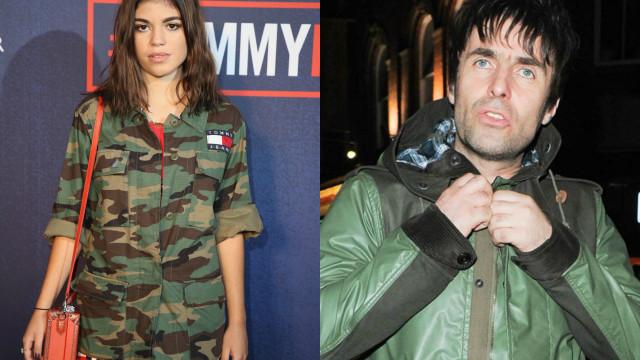 Liam Gallagher foi à mesma festa que uma das filhas que nunca conheceu
