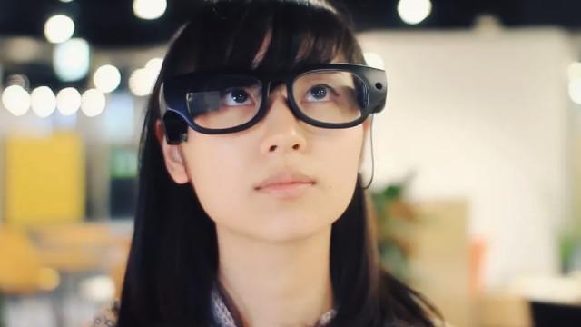 Estes óculos dão uma preciosa ajuda a quem não conseguir ver